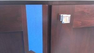 Third Step to Cabinet Hardware Installation